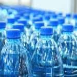 bottled water in factory